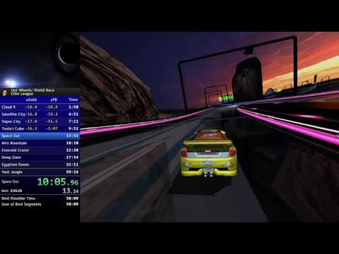 [Hot Wheels: World Race] Elite League Speedrun in 53:56 [WR]
