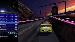 [Hot Wheels: World Race] Elite League Speedrun in 53:56