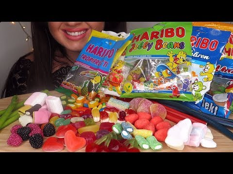 ASMR HARIBO CANDY !!!Extreme Chewy Eating Sounds!!! *No Talking*