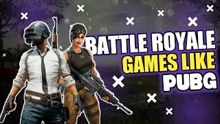 BEST TOP 5 FREE Battle Royale Games on android ! ( Like PUBG and fortnite )