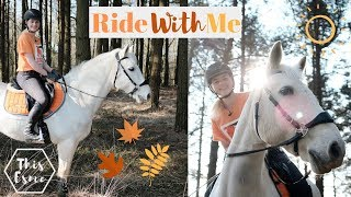 Get Ready and Trail Ride with me and My Horse | This Esme