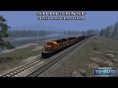 Train Simulator 2015 - Standard Scenario - SD40-2 BNSF - Toil and Trouble Part 1 |