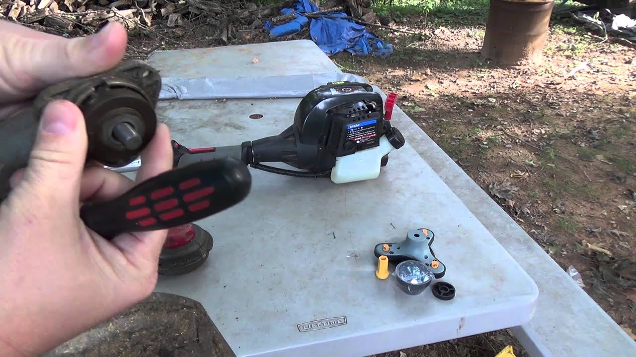 Ugly Head install on Troy Built weed trimmer