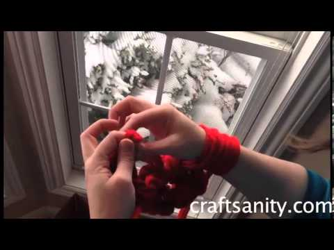Arm Knitting Step By Step : Arm knitting tutorial by craftsanity youtube