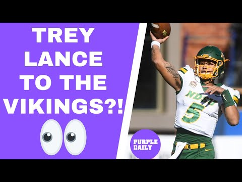 Trey Lance to Minnesota Vikings at pick 14? – Mock Draft