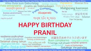 Pranil   Languages Idiomas - Happy Birthday