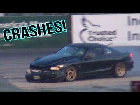 Spectator Drags Crash Compilation