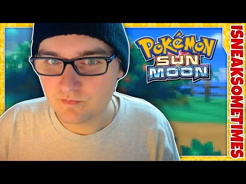 Pokémon Sun and Moon Starters and Legendaries | iSneakSometimes Reaction video