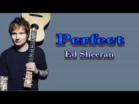 Chord Kunci Gitar Perfect - Ed Sheeran