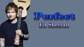 perfect ed sheran official lyrics video
