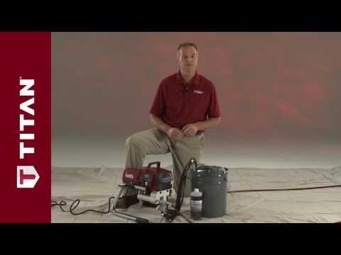 Titan Sprayer Clean Up