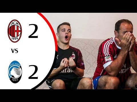 😡 UNA PARTITA NON DURA 45 MINUTI. - MILAN 2-2 ATALANTA | LIVE REACTION GOL HD