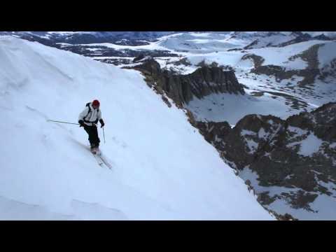 Skiing Mount Whitney