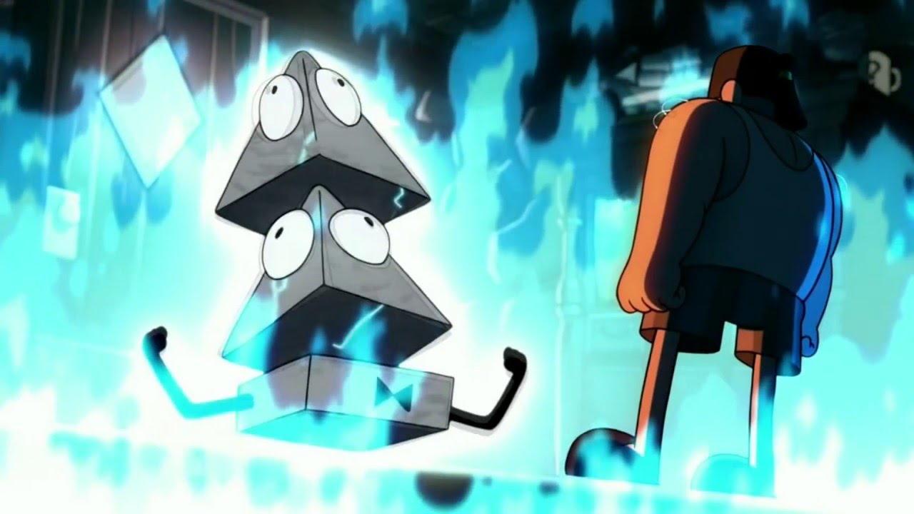 Gravity Falls Bill Cipher Dies In Slow Motion Youtube