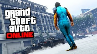 LIVE GTA 5 ONLINE SOUS LA NEIGE R2 RACE SNOW thumbnail