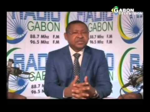 RTG - Invité de la matinale sur la Radio Gabon, le ministre Jean Marie Ogandaga