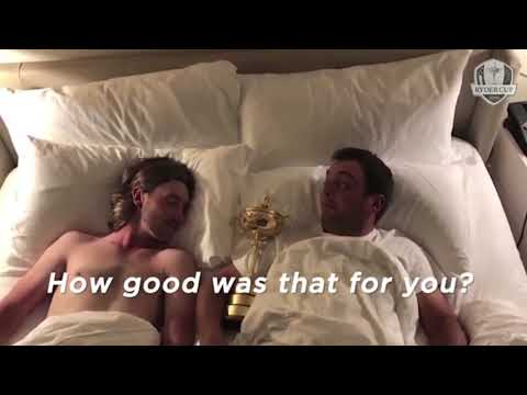 Mollywood | Tommy Fleetwood and Francesco lying in bed together skit after Ryder Cup win Mp3