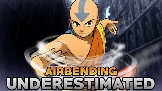 Airbending is Underestimated and The Most Inclusive Element in Avatar!