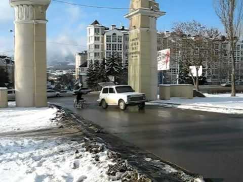 Зима!.. Крестьянин, торжествуя.. (Пятигорск, Машук)