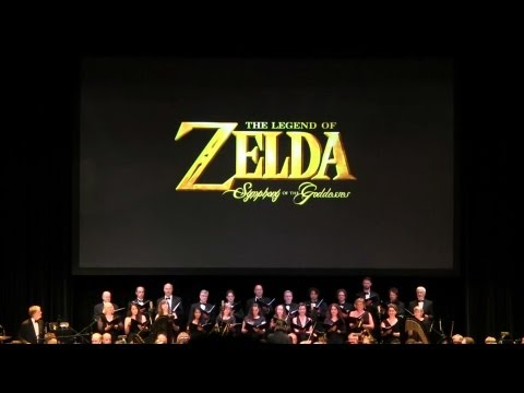 Zelda: Symphony of the Goddesses: Second Quest-Toronto 2013 *FULL CONCERT*