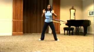 Hula Hoop Beginner Waist-Hooping Workout #1 by Victory Fitness in Rochester, NY