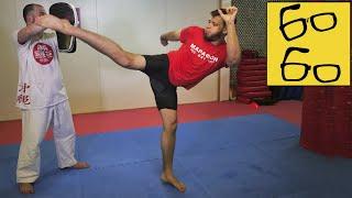 Янис учится бить ура-маваши и борется с Ираклием! Бразильское джиу-джитсу против карате