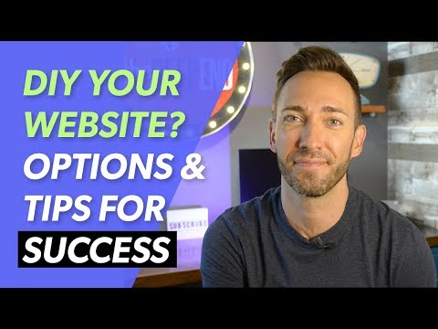 Website DIY: Options, Tips & The 1 Way it Can Work - 동영상