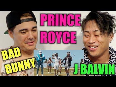 Sensualidad - Bad Bunny X Prince Royce X J Balvin REACTION (ft JRE BALVIN)