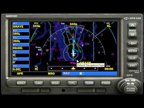 Watch on aviation gps navigation