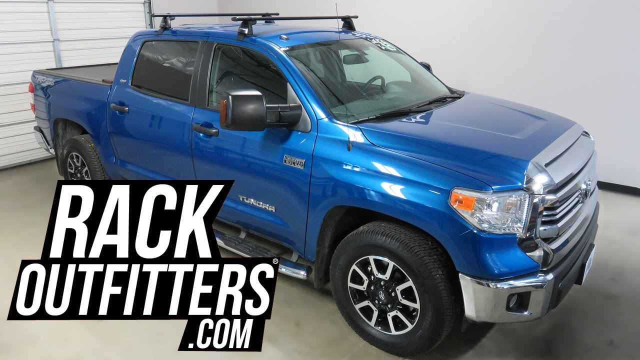 2017 Toyota Tundra CrewMax with Yakima BaseLine CoreBar ...