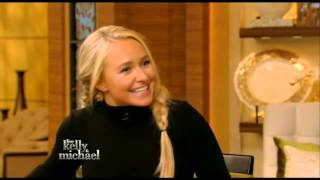 Hayden Panettiere on Live! with Kelly and Michael (Apr 22nd, 2015)