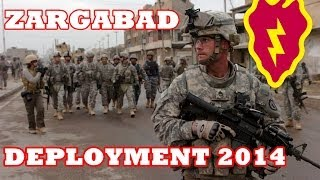 25th Infantry Division-Zargabad Deployment Announcement