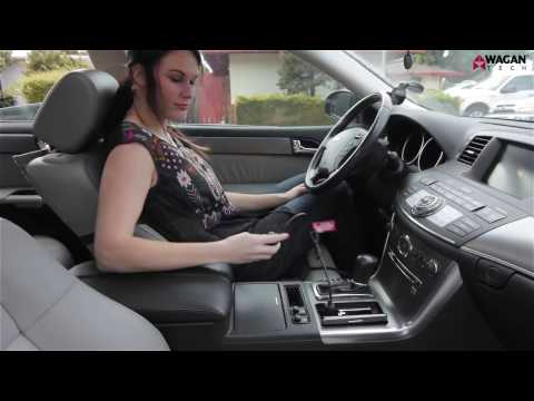 HealthMate Deluxe Velour Heated Seat Cushion - Demo & Features