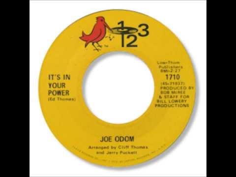 Joe Odom - It's In Your Power 1969