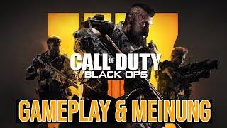 Call of Duty Black Ops 4 - Gameplay & Meine Meinung (Deutsch/German)