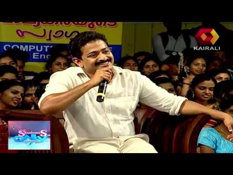 Students Only |  Renji Panicker on his popular dialogue from the movie The King