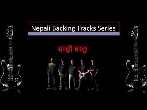 Samjhi Baschhu (1974 AD) Backing Track/Karaoke for Guitar Solo/Vocals/Flutes