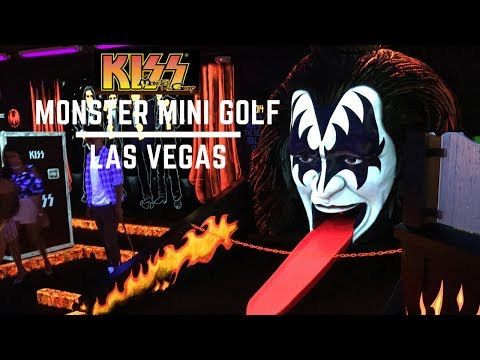 KISS Monster Mini Golf - Las Vegas