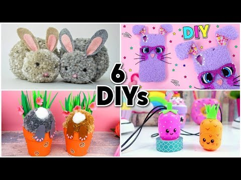 6-diy-for-easter-|-easy-rabbits-crafts-and-eggs-crafts-for-children