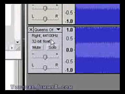 Remove Vocals from Mp3s using audacity (Win/Mac/Linux) Free