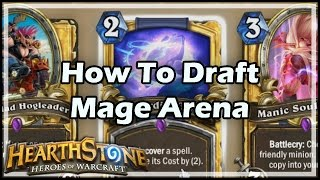 [Hearthstone] How To Draft Mage Arena