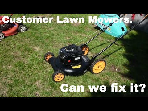 Customer Lawn Mowers! Will They Run?