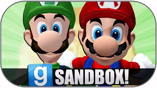 Gmod Sandbox Funny Moments: Giant Mario, Extreme Danger, Worst Map, Zoidberg Deaths, Dick Chocolate!