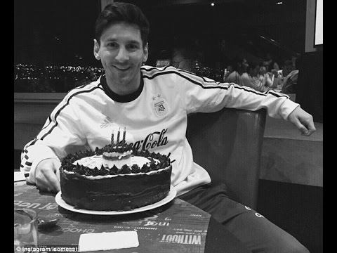 Lionel Messi Birthday  Happy Birthday To Leo