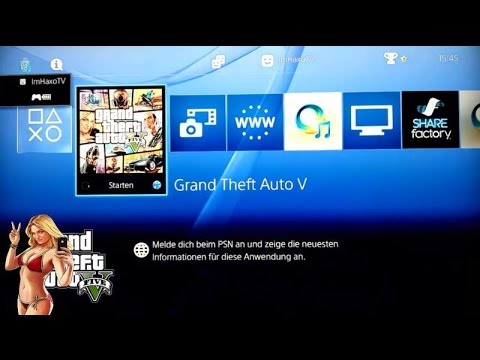 how to start gta 5 in ps4
