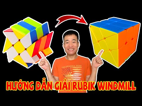ACC - Hướng Dẫn Giải Rubik Windmill.