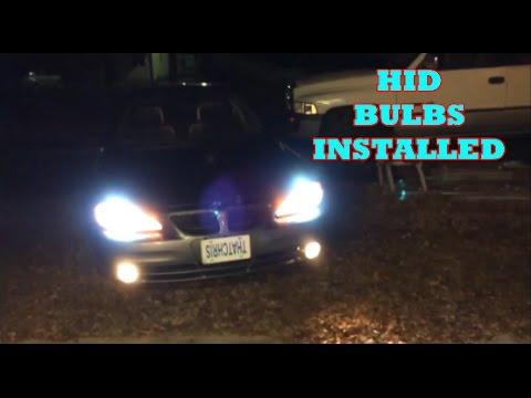 How To Install Hid Headlight Bulbs On A 2004 Pontiac Grand Am