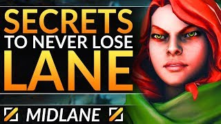 Can ANYONE STOP HIM?! - Pro Coach REVEALS TRICKS to Win ANY 1v1 Mid - Dota 2 Laning Guide