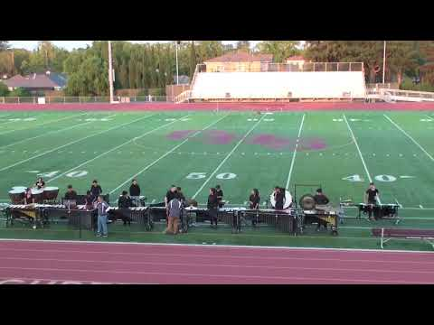 Cupertino High School Marching Band & Color Guard Summer Showcase (11 August 2017)