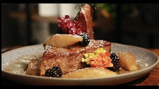 How to make Banana Foster French Toast | Chef Chris Valdes